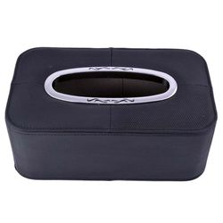 KMH Leather Tissue Box