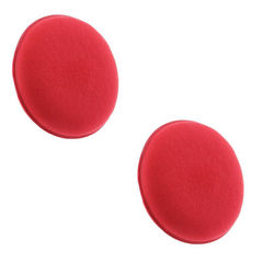 KMH Professional Power Foam Applicator Pad (2 Pieces)-Red