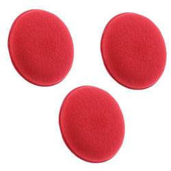 KMH Professional Power Foam Applicator Pad (3 Pieces)-Red