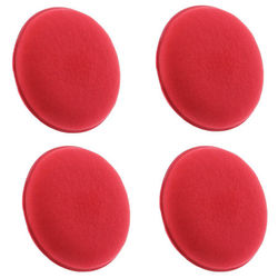 KMH Professional Power Foam Applicator Pad (4 Pieces)-Red