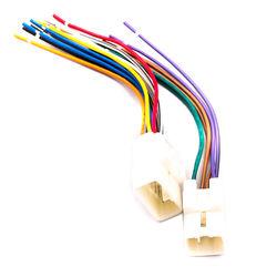 KMH Stereo Wiring Harness Socket for Toyota Fortuner 2011