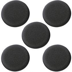 KMH Professional Power Foam Applicator Pad (5 Pieces)-Black
