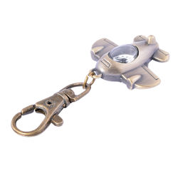 KMH Watch Key Ring Aeroplane Shape