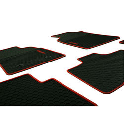 KMH High Quality Rubber Foot Mats for Toyota fortuner