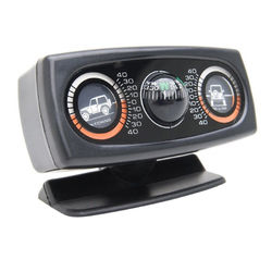 Off Road Inclinometer/Clinometer with Dual Angles and Compass Land Meter
