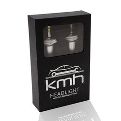 KMH 55W 6600 Lumnes Led Cree Headlight Conversion Kit (6000K)-H8