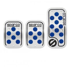 KMH Sparco Universal Paddle Kit For Car (Silver With Blue)