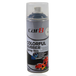 Car8 Removable Rubber Spray Paint Film Black (K4) 400Ml