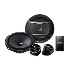 Pioneer Ts-A1606C-Speakers 16 cm Component Speaker Package