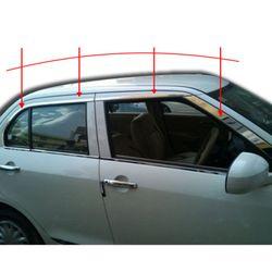 KMH Window Garnish for Dzire 2012 (Set of 14 Pcs) (Chrome)