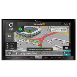 Pioneer AVIC-F80BT Touchscreen With GPS System (17.8 cm Screen)
