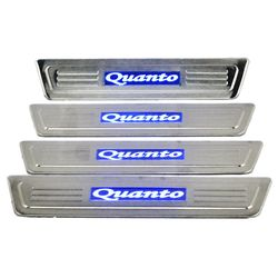 Door Sill Plates Light For Mahindra Quanto