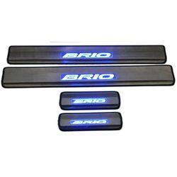 Door Sill Plates Light For Honda Brio