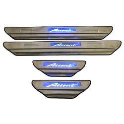 Door Sill Plates Light For Hyundai Accent