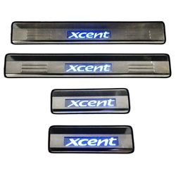 Door Sill Plates Light For Hyundai Xcent