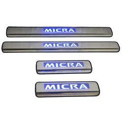 Door Sill Plates Light For Nissan Micra