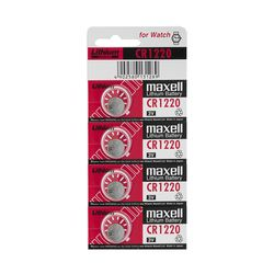 KMH Maxell Lithium Battery 3V CR1220 (Pack of 4)