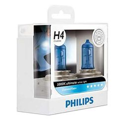 Philips Diamond Vision H4 Bulb 60/55W (Set of 2 Pcs)