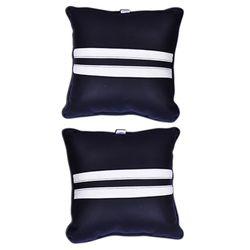 KMH Car Pillow Black/White(Set of 2pcs)