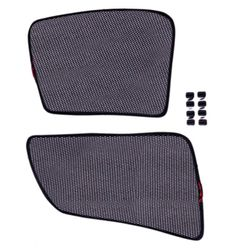 KMH Foldable Magnetic Side Window Curtains For Skoda Superb (2pc)