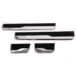 Premium Door Sill Plates Light For Honda Jazz 2014- (Imported)