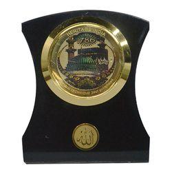 Heritage 24krt Gold Plates Idol for God 786 (ACF Frame)