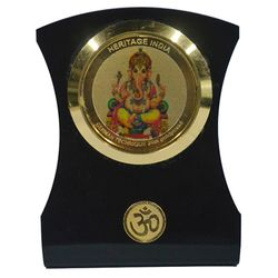 Heritage 24krt Gold Plates Idol for God GANESHA (ACF Frame)