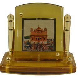 Diviniti 24krt Gold Plates Idol for God GOLDEN TEMPLE (CF Frame)