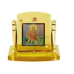 Diviniti 24krt Gold Plates Idol for God DURGA (CF Frame)