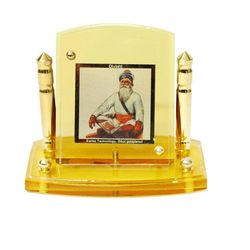 Diviniti 24krt Gold Plates Idol for God BABA DEEP SINGH (CF Frame)