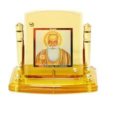 Diviniti 24krt Gold Plates Idol for God GURU NANAK DEV (CF Frame)