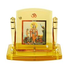 Diviniti 24krt Gold Plates Idol for God KRISHNA (CF Frame)