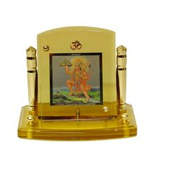 Diviniti 24krt Gold Plates Idol for God HANUMAN (CF Frame)