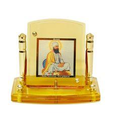 Diviniti 24krt Gold Plates Idol for God GURU TEGH BAHDUR SAHIB JI (CF Frame)
