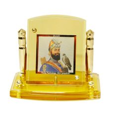 Diviniti 24krt Gold Plates Idol for God GURU GOBIND SINGH (CF Frame)