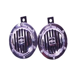 Hella Midi Horn-Silver Disk Type Set (Set of 2 Pcs)