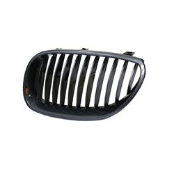Front Grill for BMW 5 Series (2003-2010) E60 Carbon fiber (Set of 2pcs)