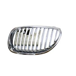 Front Grill for BMW 5 Series (2003-2010) E60 Chrome (Set of 2pcs)