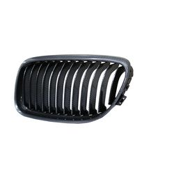 Front Grill for BMW 3 Series (2004-2013) E90 Carbon fiber (Set of 2pcs)