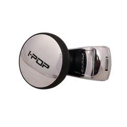 I-POP Car Steering Wheel knobs - Silver CX-1T3500007 (Made in KOREA)