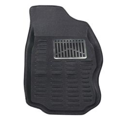 KMH 3D Mats For Skoda Superb Black Antiskid (Set of 5Pcs)