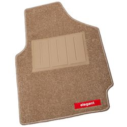 Elegant Carpet Mats Miami Beige For Tata Safari (6 Pcs)