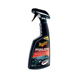 Meguiars Natural Shine Vinyl & Rubber Protectant 16Oz .