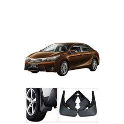 KMH Mud Flaps For Toyota Corolla Altis 2014 (Set Of 4 pcs)