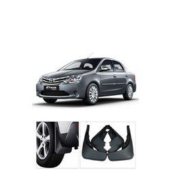 Mud Flaps For Toyota Etios (Set Of 4 pcs)