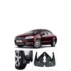 Mud Flaps For Fiat Linea (Set Of 4 pcs)
