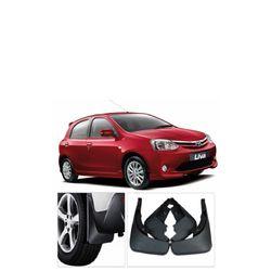 Mud Flaps For Toyota Etios Liva (Set Of 4 pcs)
