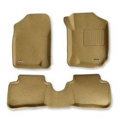3D Kagu Mats For Land Rover Freelander 2 Beige