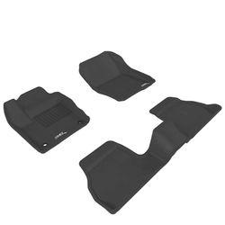 3D Kagu Mats for Maruti Suzuki Baleno (Black)