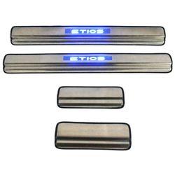 Door Sill Plates Light For Toyota Etios Cross